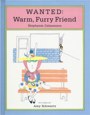 Wanted Warm, Furry Friend