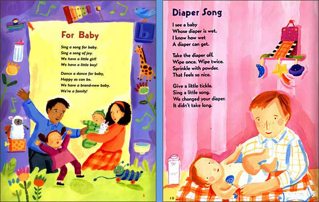 Welcome, Baby! Baby Rhymes for Baby Times | Stephanie ...